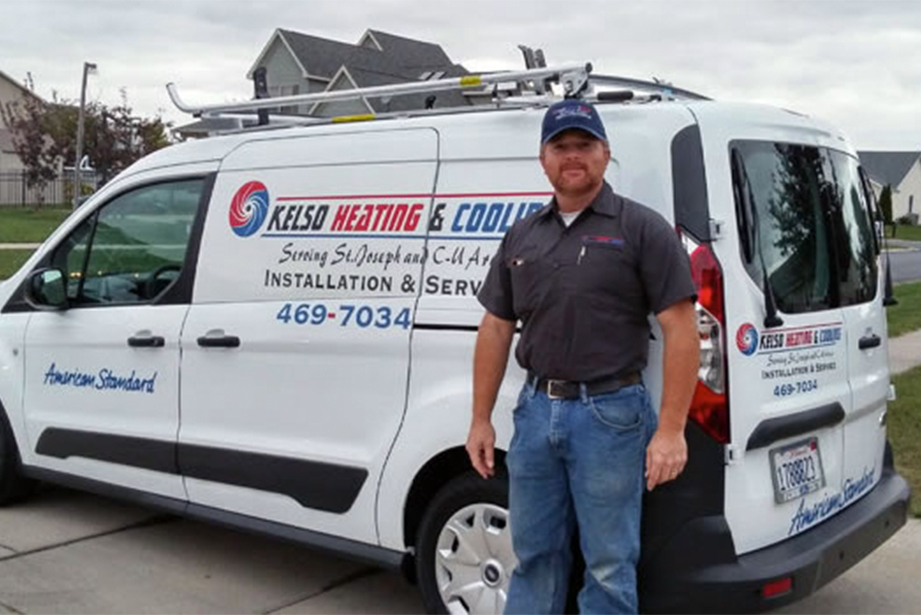 Josh from Kelso Heating & Cooling in St. Joseph Illinois